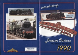 Catalogue BACHMANN 1990 OO British Outline - Anglais