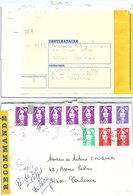 FRANCE - LETTRE RECOMMANDEE COURBEVOIE 7.12.1994 - 10 X  MARIANNE DE BRIAT / 2 - 1961-....