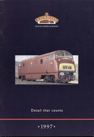 Catalogue BACHMANN 1997 Scale OO GB - Anglais