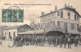 91-VIGNEUX- MAISON RANQUE, OU A EU LIEU LA FUSILLADE DES GREVISTES - Vigneux Sur Seine
