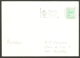 Belgium 1978 Eupen - Roller Chess Cancel On Envelope - Scacchi