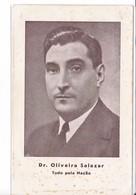 CPA Old Pc Portugal Oliveira Salazar President - Politische Und Militärische Männer