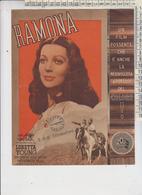 PORTOGRUARO VENEZIA TEATRO SOCIALE CINEMA LOCANDINA FILM RAMONA CON LORETTA YOUNG - Documents Historiques