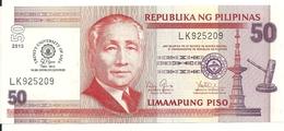PHILIPPINES 50 PISO 2013 UNC P 216 - Philippines