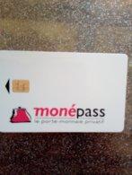 FRANCE CARTE A PUCE CHIP CARD MONEPASS LYON PORTE MONNAIE NEUVE MINT - France