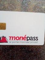 FRANCE CARTE A PUCE CHIP CARD L&G MONEPASS LYON PORTE MONNAIE NEUVE MINT - France