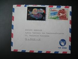 Lettre Thème Tapisserie Et Exposition Universelle D'Osaka  Sénégal 1970   Pour La Sté Générale En France Paris - Senegal (1960-...)