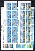 Samoa YT N° 353/357 En Blocs De 10 Non Dentelés Neufs ** MNH. TB. A Saisir! - Samoa