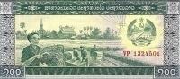 LAOS 100 KIP ND1979 UNC P 30 - Laos