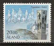 Aland 1984 Court MNH ** - Aland