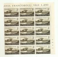 """7145 """"ITALIA COLONIA AFRICA ORIENTALE ITALIANA-I MOSTRA TRIENNALE DELLE TERRE D'OLTREMARE-1940-NUOVO-FOGL. 15 ESEMPL."""" - Eastern Africa"""