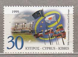 CYPRUS 1999 Council Of Europe 50 Years Mi 929 MNH (**) #17943 - Briefmarken