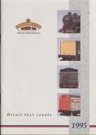 Catalogue BACHMANN BRANCH-LINE 00 Scale Model Railways 1995 - Anglais