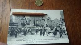 CPA Vidanges De Jour  D'Avranches Beuzeval Ent Legros Attelage Vélo Animée Normandie Vieux Métiers Commerce Transport - Cartes Postales