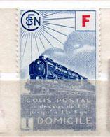 FRANCE COLIS POSTAL N° 201 (4.30) BLEU LIVRAISON A DOMICILE NEUF SANS CHARNIERE - Neufs