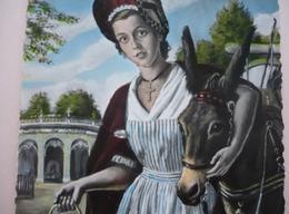 03 - Cpsm 150 X 105 -  VICHY - La Petite Bourbonnaise De CHATEAU-ROBERT - étude De PIERRE DIE-MALLET 1952 -  Bel âne - Vichy