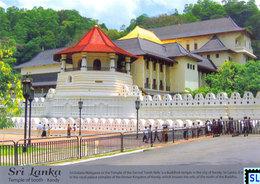 Sri Lanka Postcards, Temple Of Tooth Relic, Dalada Maligawa, Kandy, Buddha, Buddhism, UNESCO, Postcard - Sri Lanka (Ceylon)