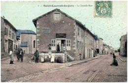 39 SAINT-LAURENT-du-JURA - La Grande Rue - Autres Communes