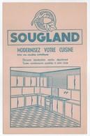 - BUVARD SOUGLAND - MODERNISEZ VOTRE CUISINE Avec Nos Meubles Métalliques - - Carte Assorbenti