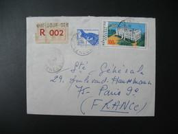 Lettre Thème Palais De La République Et élégance Sénégal  1973  Pour La Sté Générale En France Bd Haussmann Paris - Senegal (1960-...)