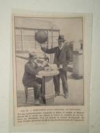 Le Bourget Sondage Météorologiste Avec Ballon à Main  - Coupure De Presse De 1928 - GPS/Aviación