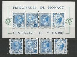 MONACO - MNH - Philately - Famous People - Exhibitions - 1985 - Philatelic Exhibitions