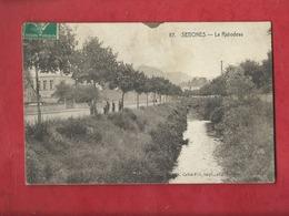 CPA Abîmée, Décollée  -  Senones  - Le Rabodeau - Senones