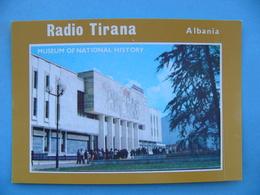 Carte QSL RADIO TIRANA ALBANIE 1987 - Radio