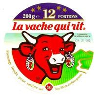 Etiquette  La Vache  Qui Rit  Occasion  100mm  Année 1990 - Käse