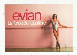 Cp, Publicité , EVIAN , Sports , PIN UP En Maillot De Bain ,  Vierge - Advertising