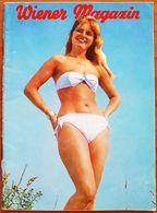 42 VINTAGE MAGAZINE RIVISTA WIENER MAGAZIN AZET VERLAG SCHREIBT DEUTSCH N 8 1962 SEXY PIN UP UPS VEDETTE SOUBRETTE - Films & TV