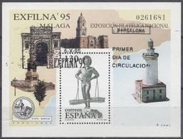 ESPAÑA 1995 Nº 3393 USADO 1º DIA - 1991-00 Usati