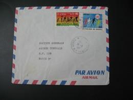 Lettre  Thème  ONU - Haut Commissariat Pour Les Réfugiés  Sénégal   Pour La Sté Générale En France  Paris - Senegal (1960-...)