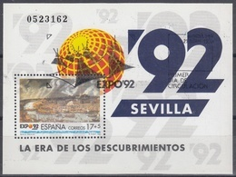 ESPAÑA 1992 Nº HB-3191 USADO 1º DIA - 1991-00 Usati