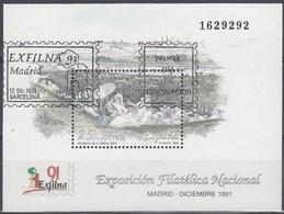 ESPAÑA 1991 Nº HB-3145 USADO 1º DIA - 1991-00 Usati