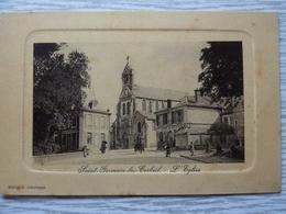 CP-Saint-Germain-les-Corbeil (91) L'Eglise, CP Photo - Corbeil Essonnes