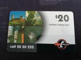 BERMUDA  $20,-  BERMUDA    LOGIC  CALL 2020222    PREPAID CARD  Fine USED  **1246** - Bermuda