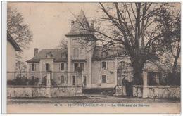 PONTACQ LE CHATEAU DE BURON 1922 TBE - Pontacq