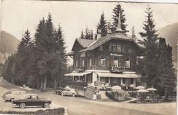 SWITZERLAND-SCHWEIZ-SUISSE-SVIZZERA-ZWEISMMEN-FISCHZUCHT RESTAURANT-CARTOLINA VERA FOTOGRAFIA-VIAGGIATA 1950-1958 - BE Berne