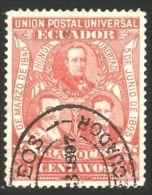 314 Equateur 1896 Roca Noboa Olmedo 20c (ECU-67) - Equateur