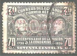 314 Equateur 1936 Mission Condamine (ECU-119) - Equateur