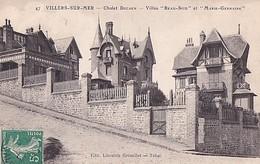VILLERS SUR MER         CHALET DECAEN.   VILLAS BEAU SITE ET MARIE GERMAINE - Villers Sur Mer