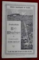32-1.Depliant  Biel-Magglingen Funiculaire  Bienne -Macolin 1893 - Tourism Brochures