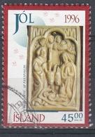 +Iceland 1996. Christmas. AFA 845. Cancelled - 1944-... Republique