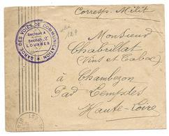 WWI GVC SECTEUR A SECTION X MIRAND POSTE 3 SUCRERIE DE VILLERON LOUVRES CHABRILLAT CHAMBEZON - ENV MILITAIRE - Guerre De 1914-18