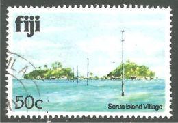 394 Fiji Village Serua Island (FIJ-42) - Fiji (1970-...)