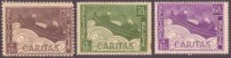 Belgique  1927 - Cob N°249-51 - Tuberculeux Et Blessés -  MNH ( * )  - Cote € 4.75 - Unused Stamps