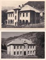 ¤¤  -  Lot De 2 Cartes-Photos Non Situés D'une Maison Bourgeoise En Montagne    -  ¤¤ - Entertainers