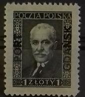 DANTZIG BUREAU POLONAIS N° 22 COTE 100 € NEUFS * MH 1 Z Noir Sur Crème En 1936. TB - Danzig