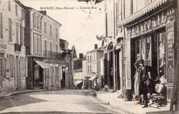 MAUZE-SUR-LE-MIGNON GRANDE RUE - Mauze Sur Le Mignon